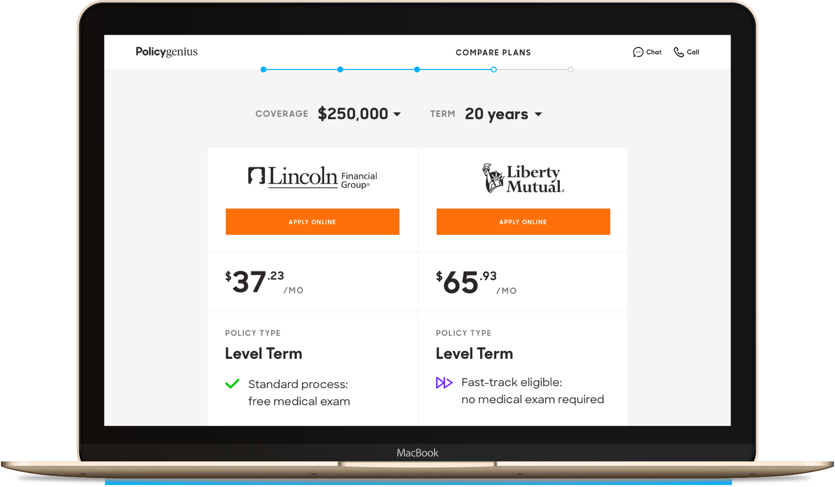 Compare Life Insurance Quotes Policygenius & Mint  Policygenius